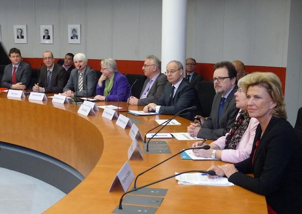 Die AwZ-Mitglieder von CDU und CSU.