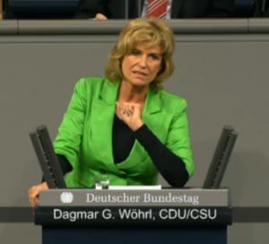 """Dagmar Wöhrl spricht im Bundestag zu """"Wirtschaftliche Zusammenarbeit und Entwicklung"""" (10. Sitzung vom 29.01.2014)"""